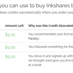 Inkshares Crowdfunded Book Publishing $15 Free Credits, Referrals and More