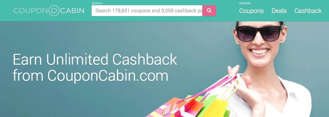 CouponCabin $5 New Member Bonus