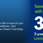 Northwest FCU 3.04% APY Dream Fund Certificate with Easy Membership