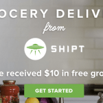 Shipt Grocery Delivery Service $10 Discount and $10 Referral Credits