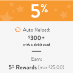 Earn 5% Bonus To Auto-Reload Your Amazon Gift Card Balance