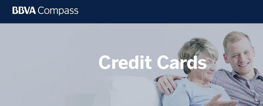 BBVA Compass Credit Cards Bonuses