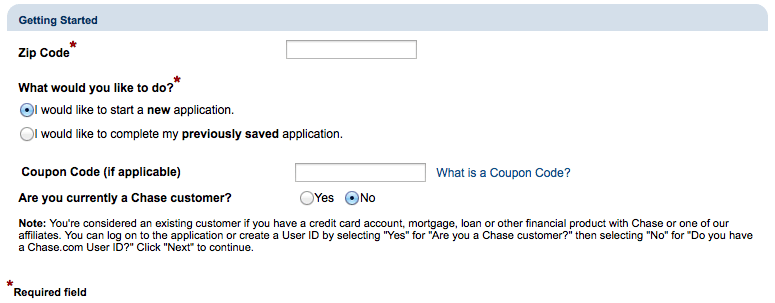 Chase bank coupon code