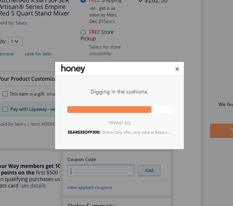 Honey Coupon Code Checker