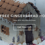 Thrive Market Free Gingerbread House