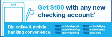 AnchorBank 100 New Checking Bonus