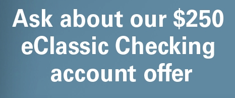 Talmer Bank and Trust eClassic Checking Promotion
