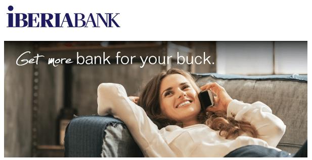 IBERIABANK New Account Bonus Promotions