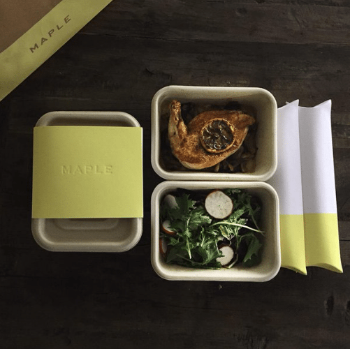 Maple Nyc Meal Delivery Free First Meal And 15 Referrals