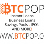 BTCPOP – P2P Bitcoin Banking with 5% APR Savings Account