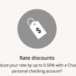 Chase Auto Loans up to 0.50% Rate Discounts for Personal Checking Customers