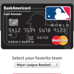 Major League Baseball Credit Card $200 Cash Bonus from Bank of America