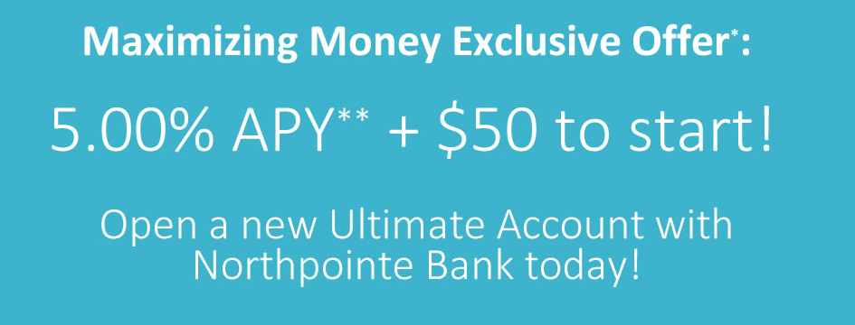 Northpointe Bank New Account Promotion