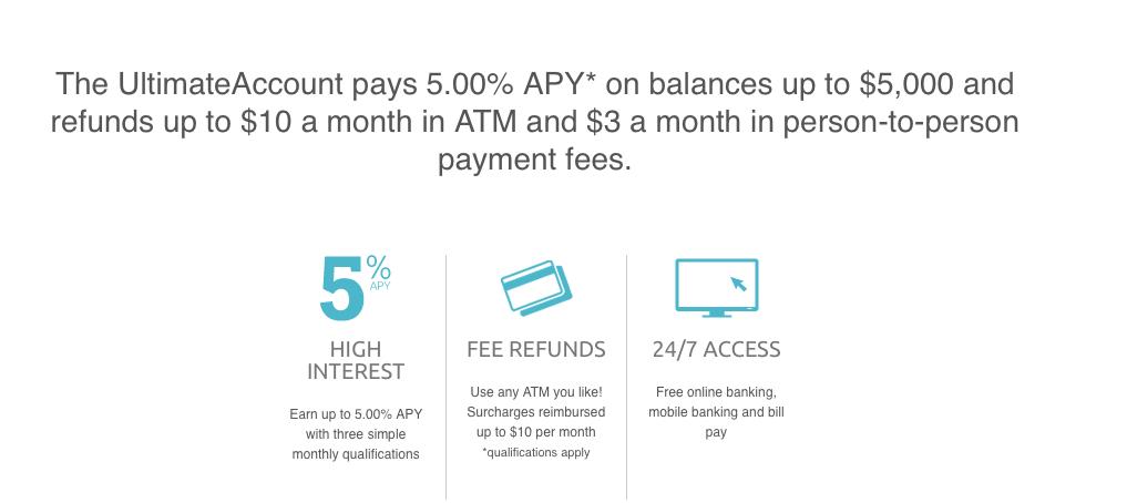 Northpointe Bank UltimateAccount Bonus
