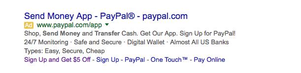 PayPal Advertising Ad 5 Bonus