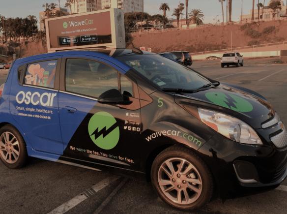 waivecar free 2 hour electric car rentals in santa monica ca
