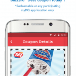 Dairy Queen myDQ App Free Small Blizzard Treat