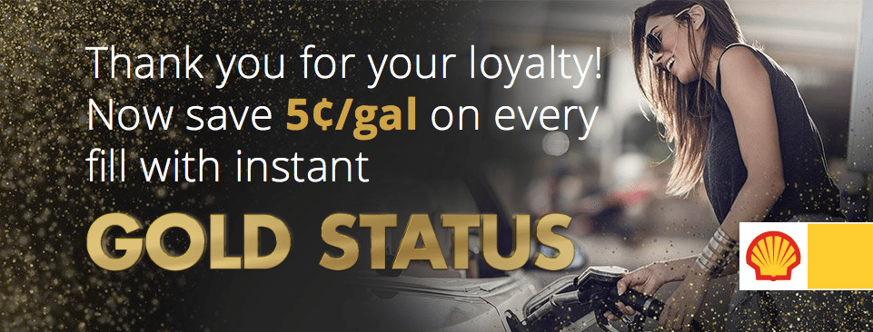 Fuel Rewards Network Instant Gold Status Promotion