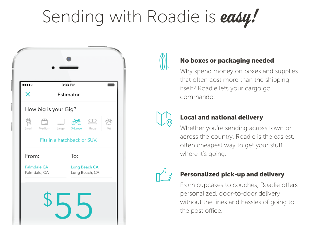 roadie delivery network 10 free referral credits. Black Bedroom Furniture Sets. Home Design Ideas