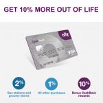 Ally CashBack Credit Card $100 Bonus and 10% CashBack Reward