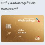 Citi / AAdvantage Gold MasterCard – 25,000 American Airlines Bonus Miles