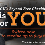 Eastman Credit Union $250 Beyond Free Checking Account Bonus in TN, TX and VA
