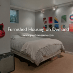 HomeSuite Fully Furnished Rentals $100 Lease Discount and $100 Referral Gift Cards