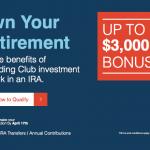 Lending Club IRA Account up to $3,000 Cash Bonus Offer for Investors