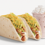 Del Taco Raving Fan eClub – 2 Free Grilled Chicken Tacos for Joining and Free Birthday Shake