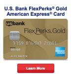 U.S. Bank FlexPerks Gold American Express Card 30,000 FlexPoints Bonus