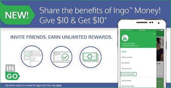 Ingo Money App Refer A Friend Credits