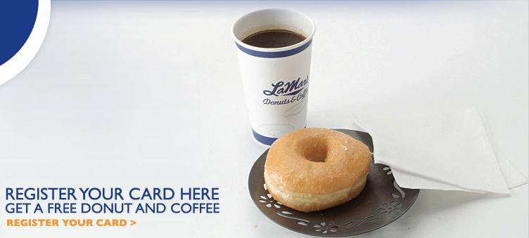 LaMars Lover Life Free Donut Coffee