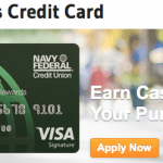 Navy Federal cashRewards Credit Card $200 Bonus