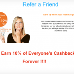 RebateCodes Cash Back Shopping $5 Sign-Up Bonus and $5 Referrals