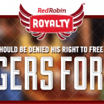 Red Robin Royalty Program – Free Birthday Burger, Every 10th Item Free, and $20 Credit on 6th Visit