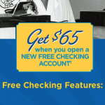 Space Coast Credit Union $65 Free Checking Account Bonus – Florida