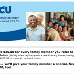 Atlanta Postal Credit Union $25 Referral Bonuses for Both Parties