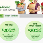CobornsDelivers Groceries $20 Store Credit Referrals in Twin Cities Area