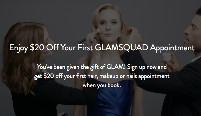 Glamsquad Beauty Service Discount