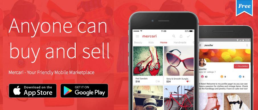 Get free mercari credits