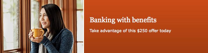 Wells Fargo 250 Everyday Checking Account Bonus