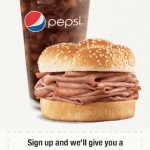 Arby's Coupons Newsletter – Free Roast Beef Classic with Drink Purchase