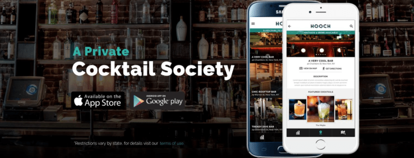 Hooch App Private Cocktail Society