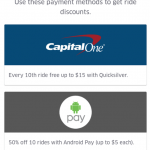 Uber Payment Rewards: Save on Rides with Select Payment Methods