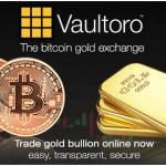 Vaultoro Bitcoin Gold Exchange