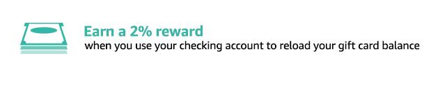 2% Amazon Balance Reload Rewards