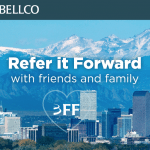Bellco Credit Union Refer It Forward: Up To $200 Bonus Available in Colorado Branches (Membership Available Nationwide)
