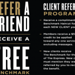 Boardroom Salon for Men Referral Program Free Haircuts