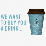 Caribou Coffee Perks Free Medium Beverage after First Visit