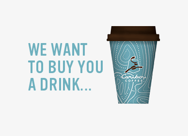 Caribou Coffee Perks Free Medium Beverage